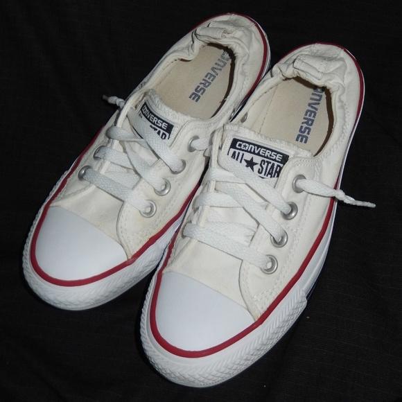 Converse elastic heel sneakers